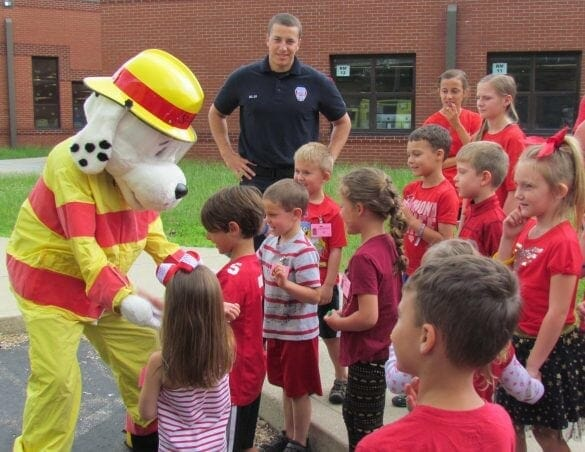 kids at safety town