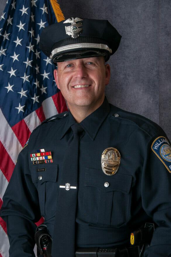 Mark Proud's police portrait