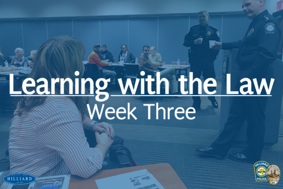 Learning with the Law week 3 banner