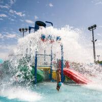 Hilliard pools splash