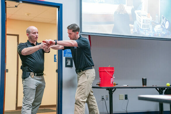 HPD officers offer CRASE training
