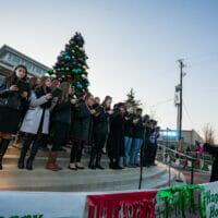 Choir at the Tree Lighting