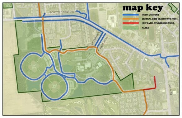 a mmap of the new trail