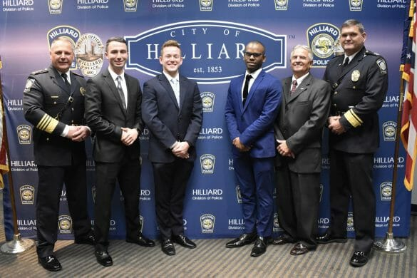 Three new officers for the HPD