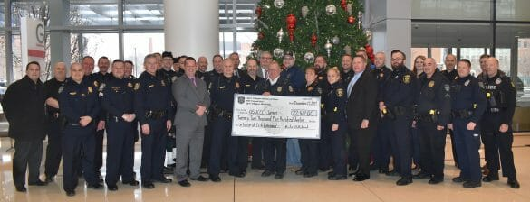 Police raise money for cancer research