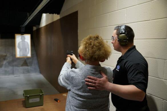 CPA training how to fire a gun