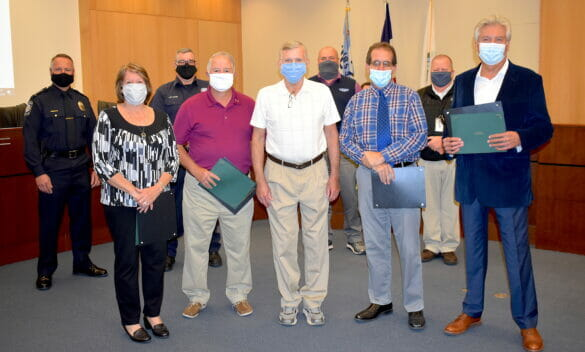 Hilliard residents recognized for saving a man's life
