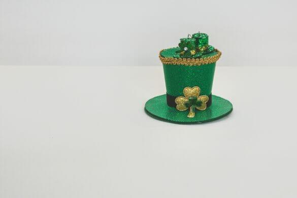 A saint patrick's day hat