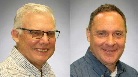 Don Barlow and Jeff Cox have been hired to add to the City's growing community development team.