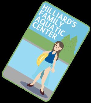 illustration of park sticker