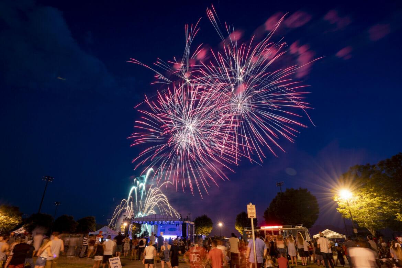 Fireworks at Freedom Fest